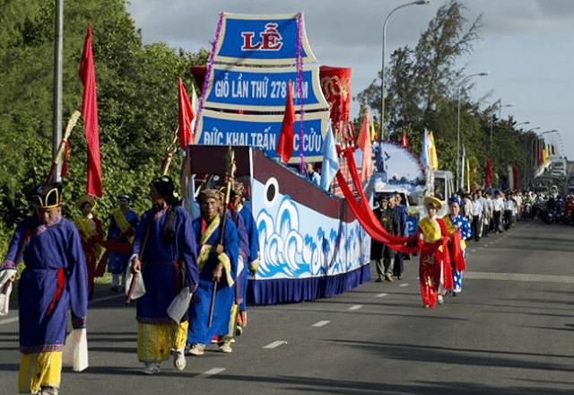 Lễ hội giỗ Đức khai trấn Mạc Cửu Hà Tiên