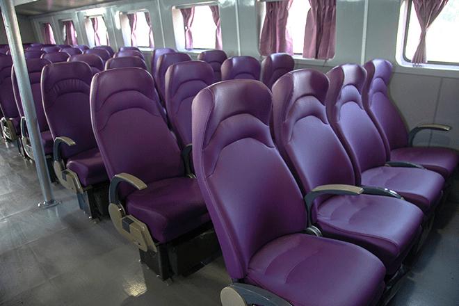 nội thất tàu cao tốc superdong phú quý