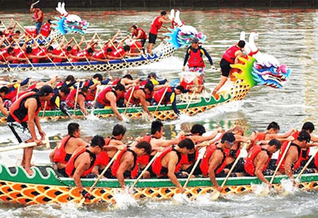 Lễ hội đua thuyền truyền thống ở Phú Quốc